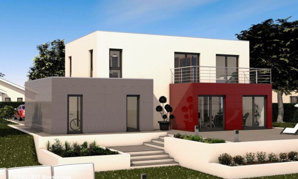 Concept Design 162 - Zeitgemäße Architektur mit glänzenden Perspektiven