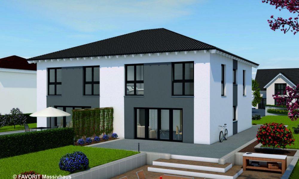 Finesse 130 - Doppelhaushälfte im Stile einer Stadtvilla
