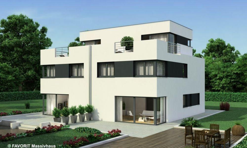 Finesse 166 - Moderner Doppelhaus-Traum