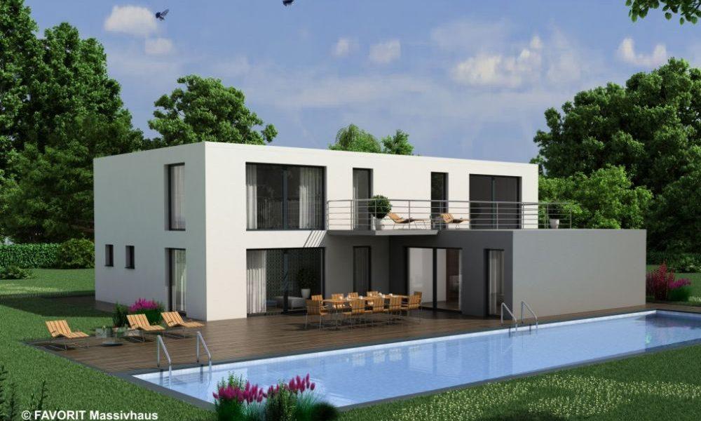 Premium 171/78 - Bauhaus mit Einliegerwohnung