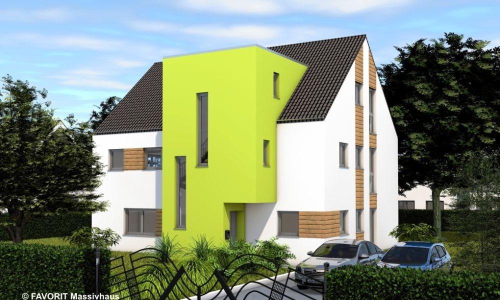 Premium 91/102 - das Zweifamilienhaus mit Loftcharakter
